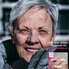Mensen bewust maken van veranderingen van de huid met checkjevlekje.nl