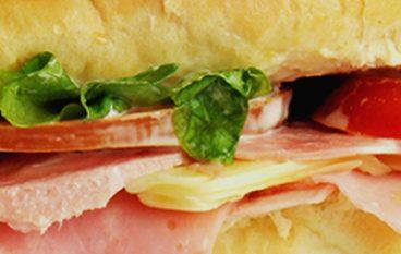 Kan jij zien  wat er op mijn broodje zit?