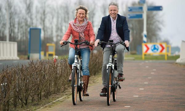 Het nieuwe fietsen