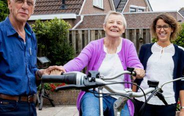 'Dankzij mijn ergotherapeut heb ik meer begrip voor de situatie van mijn vrouw'