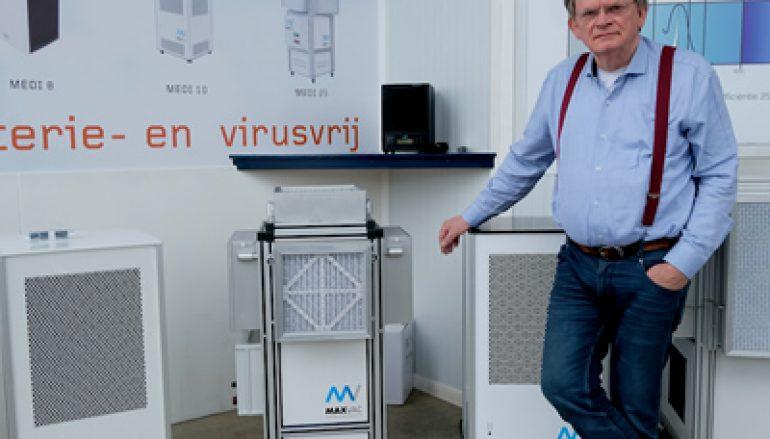 Max-Vac beschermt wereldwijd tegen besmetting met coronavirus via de lucht in binnenruimtes