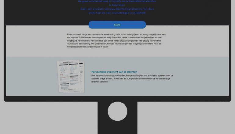 ReumaNederland en LUMC introduceren nieuwe online tool Reuma?