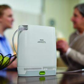 Uw vrijheid  terug met een draagbare zuurstofconcentrator